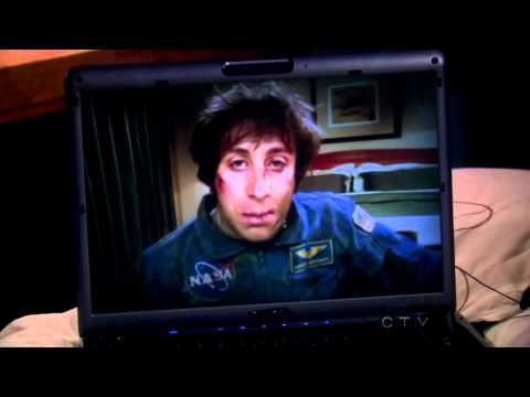 The Big Bang Theory - Howard - NASA Flight School and Survival Training