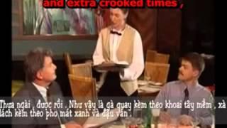 Tiếng Anh Dành Cho Nhân Viên Nhà Hàng Khách Sạn  unit 6 cảnh 3