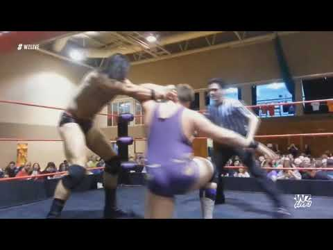 Drew McIntyre V Andy Wild. WrestleZone- Battle Of The Nations 2014.