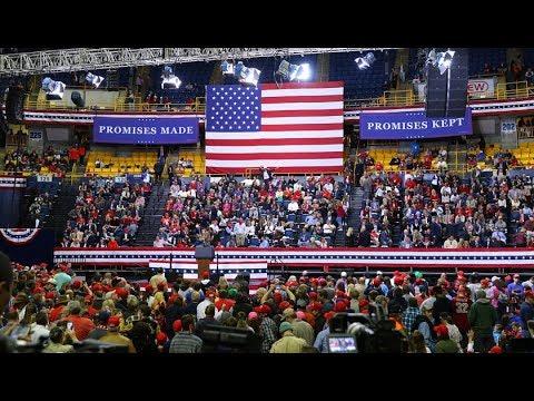 President Trump visits my hometown- McKenzie/UTC Arena