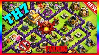 NEW BEST Town Hall 7 Base (FARMING/TROPHY) 2019 | TH7 Base Anti Dragon - Clash of Clans [Slow Build]