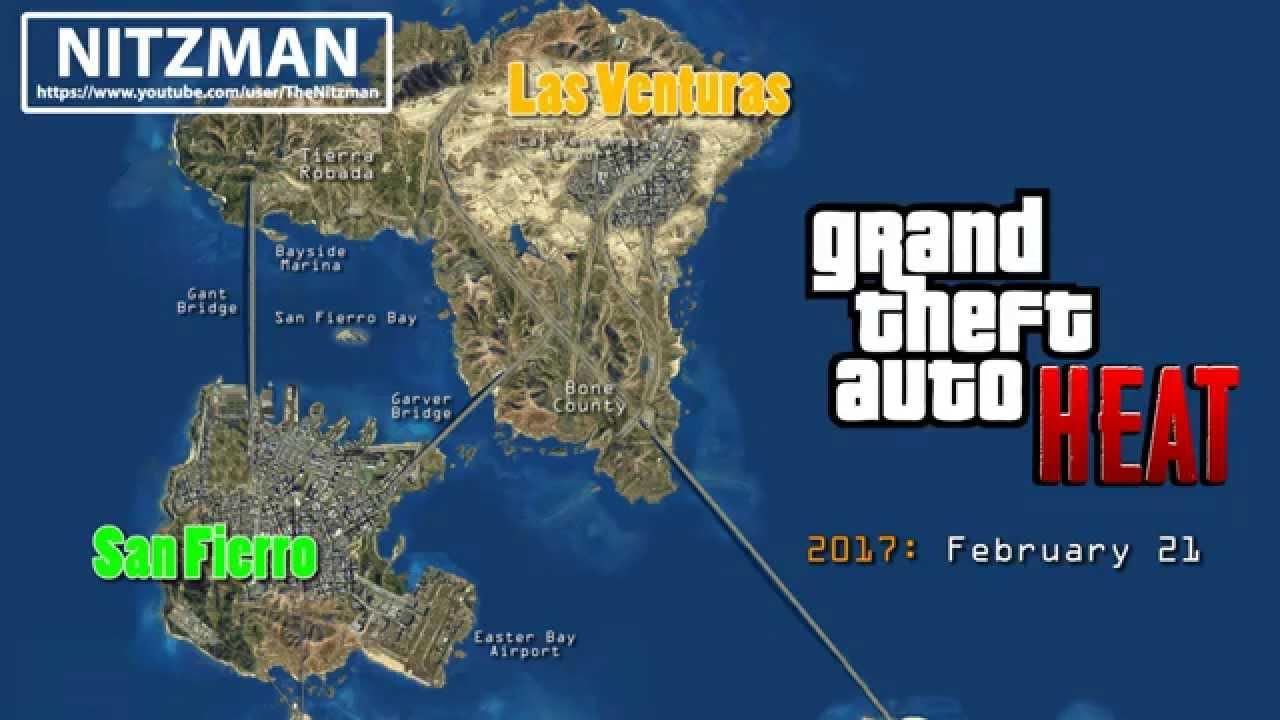 GTA GTA Return To Vice City GTA HEAT YouTube - Gta 6 london map
