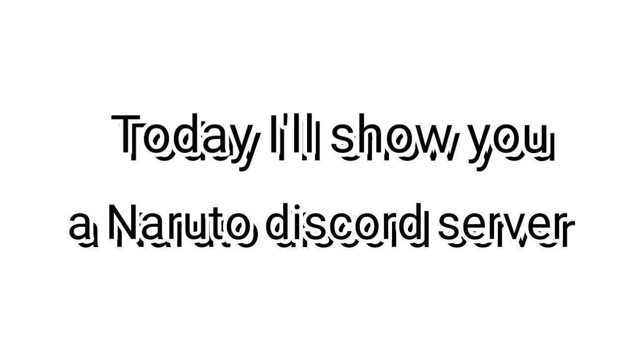 Naruto discord server