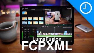 Hands-on: LumaFusion FCPXML Final Cut Pro X export!