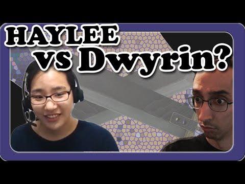 Haylee Slaughters Dwyrin! 4p vs 5d Go Game!
