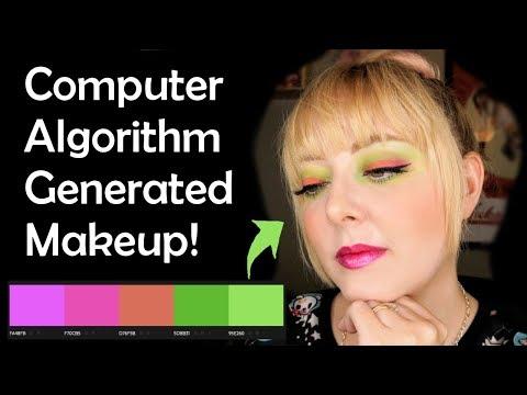 Computer Algorithm Picks My Makeup Episode 1 - Tropical