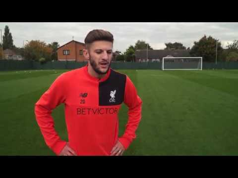 How To Turn With The Ball With Adam Lallana | LFC International Academy coaching clinic