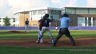 2018 CCPS Baseball All Star Game - 05-31-18 - All Personally Shot Clips Combined