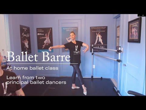 Ballet Barre + Center Class At Home w/ Principal Ballerina Lauren Fadeley