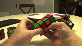 2 Layered Cuboid Demonstration Part 2:  Base domino and 180 solves
