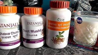 Ashwagandha Shatavari safed musli ke fayde- अश्वगंधा शतावरी सफ़ेद मुसली के फायदे thumbnail