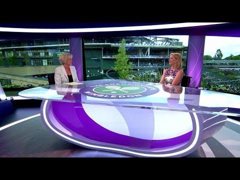 Chris Evert & Sue Barker studio chat - Wimbledon 2017