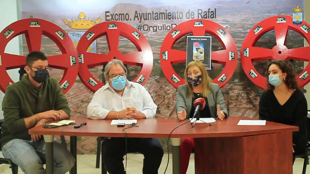Presentación IX Edición Festival Rafal en Corto. Excmo Ayuntamiento de Rafal.