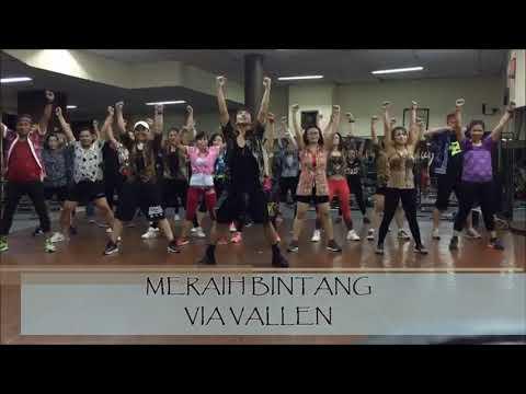 MERAIH BINTANG - VIA VALLEN | ZUMBA | CHOREO BY YP.J
