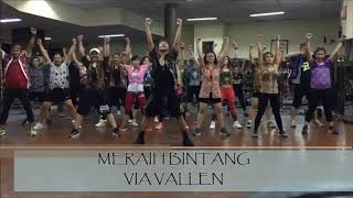 Download lagu MERAIH BINTANG - VIA VALLEN | ZUMBA | CHOREO BY YP.J