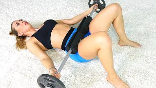 BIGGER BUTT AND THICKER THIGHS | 6 Barbell Exercises