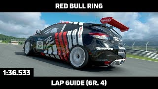 Gran Turismo Sport - Daily Race Lap Guide - Red Bull Ring - Renault Megane Gr. 4
