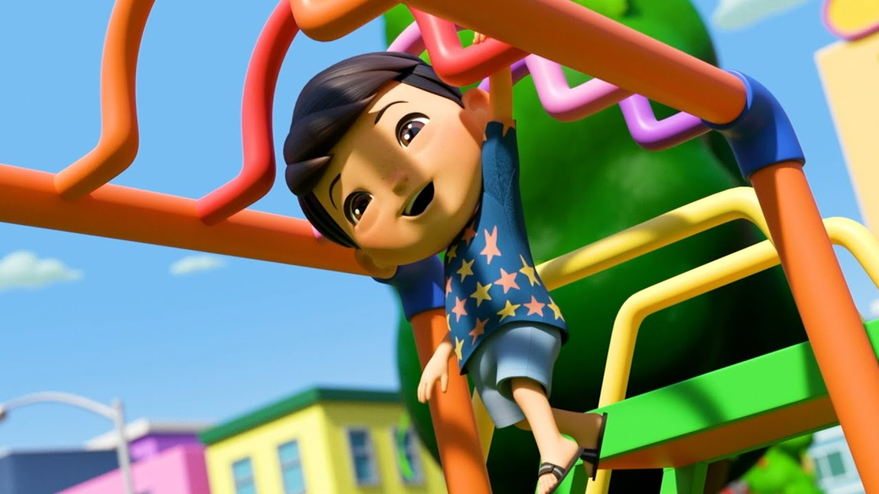Yes Yes Playground Song   @Boo Boo Kids - Nursery Rhymes & Kids Songs    Little Baby Bum
