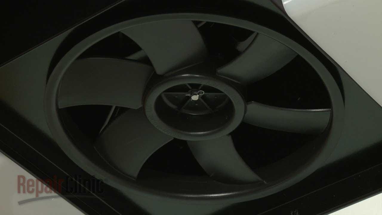Kitchen Exhaust Fan Motor Etched Glass Cabinet Doors Nutone Range Hood Blade Replacement Sr531076 Youtube