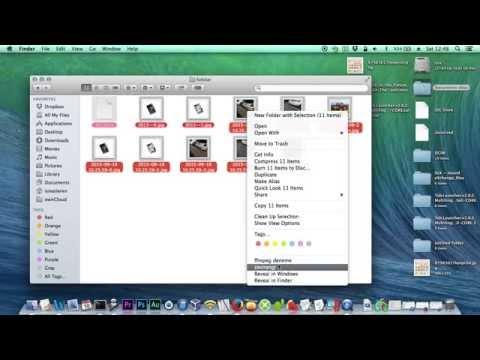 Mac Automator Services ile Örnek İmagemagick Kullanımı