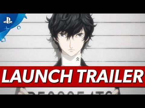 Persona 5 - Launch Trailer | PS4