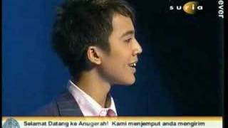 Back To The Past - The Moment Aliff Aziz Won Anugerah 2007
