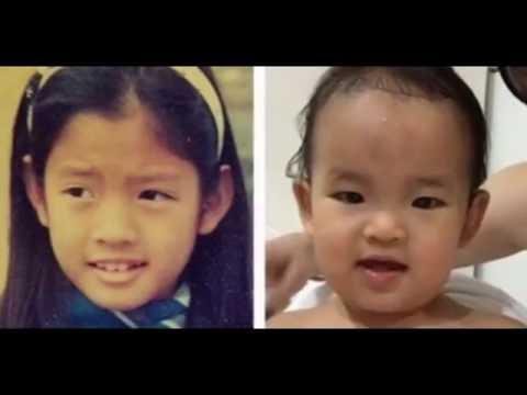แอฟ ทักษอร กับลูกสาว น้องปีใหม่ สงกรานต์ จัดภาพเทียบ