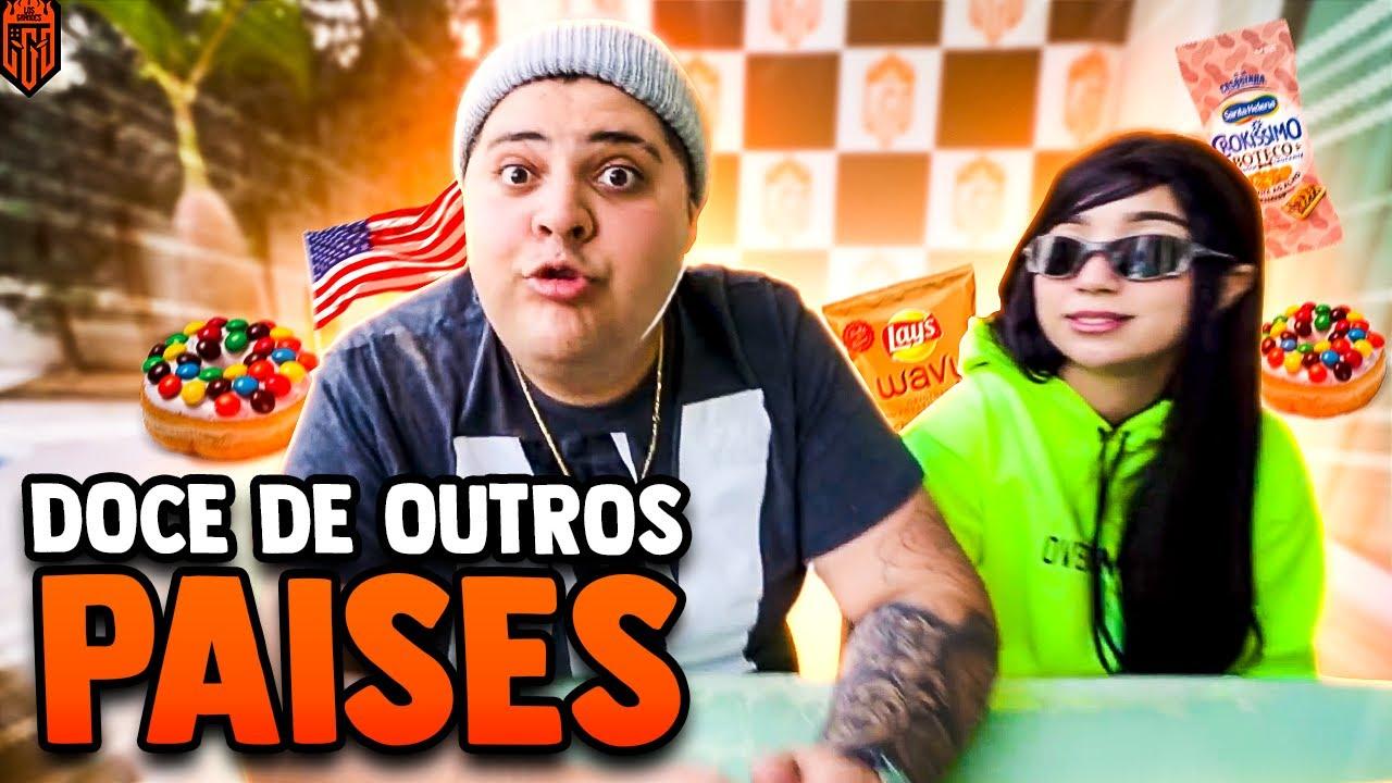 PROVANDO DOCES ESTRANHOS!!! - LOS GRANDES FF