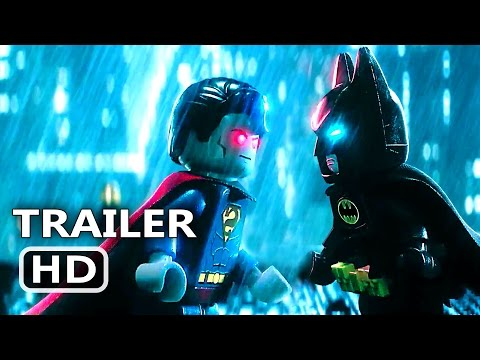 THE LEGO BATMAN (2017) Batman VS Superman Extended Trailer Animation Movie HD