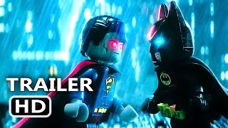 THE LEGO BATMAN (2017) Batman VS Superman Extended Trailer Animation Movie HD