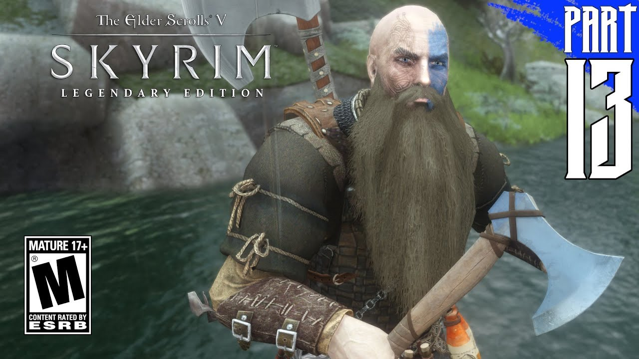 【SKYRIM 200+ MODS】Nord Gameplay Walkthrough Part 13 [PC - HD]