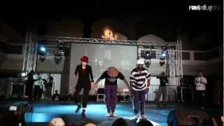 Suga Pop, Toni Basil and Flukey Luke - Locking Showcase | KOD USA 2012 | Funk