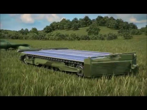 Future Unmanned Russian Solar Powered Tank Which Is Invisible To Drones
