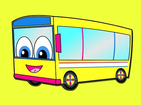 """wheels-on-the-bus""---kids-kindergarten-song,-nursery-rhyme-for-babies-&-toddler-learning"