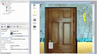 Multimedia Fusion 2 - 7 урок дверь и ключ