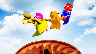 FLYING HIGH! - GANG BEASTS