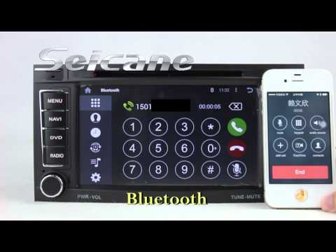 2003 2004 2005-2011 VW Touareg Radio Stereo Removal Upgrade to Android 4.4 Navigation DVD Head Unit