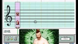 "Mario Paint - ""Hellfire"" (Sheamus WWE Theme) Resimi"