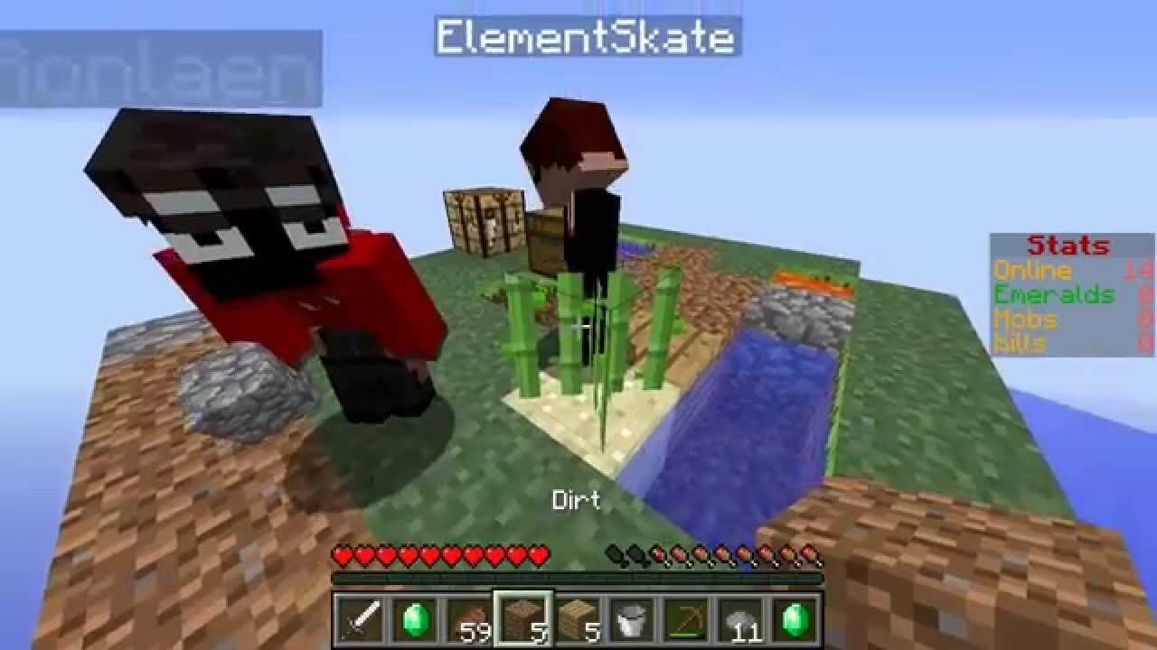 Minecraft comes alive ep 1 multiplayer online game