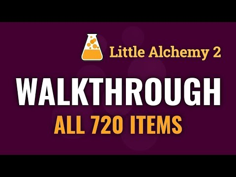 Little Alchemy 2 Cheats 720 Elements