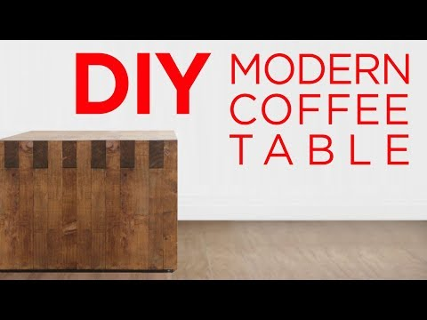 DIY 2 x 3 Box-Joint Coffee Table | 15