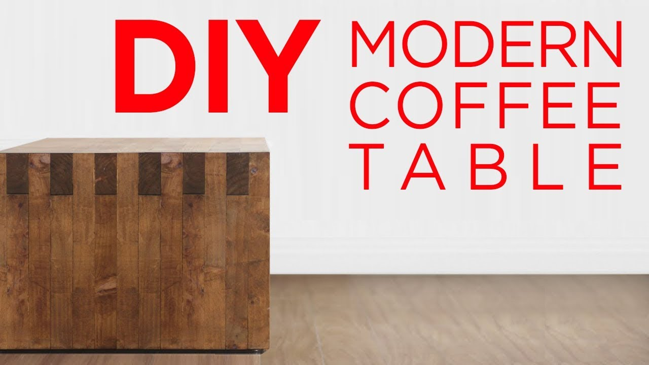 Diy 2 X 3 Box Joint Coffee Table 15