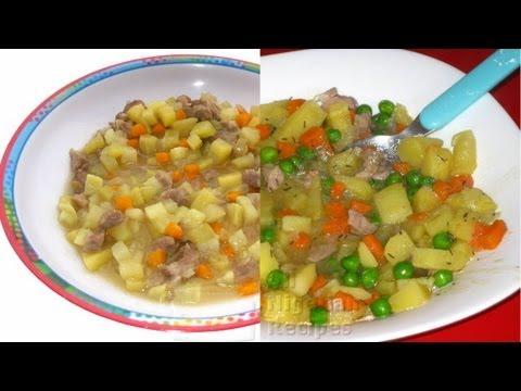 Meaty Sweet Potato (Kids recipes) | All Nigerian Recipes