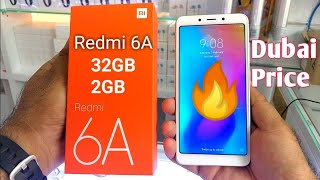 Hindi | Xiaomi Redmi 6A Unboxing 32GB 2GB. Available In Dubai