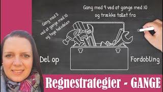 Kom i gang med regnestrategier til GANGE