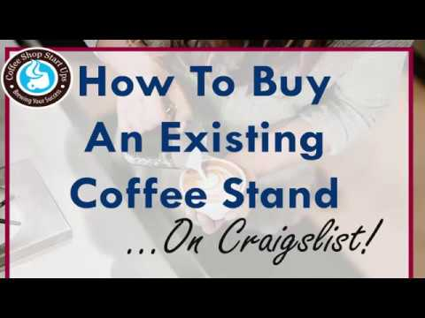 How To Buy An Espresso Coffee Stand Business - Coffee Shop Startups