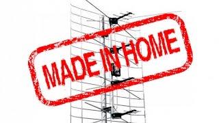 FM антенна для радио из старой ТВ антенны