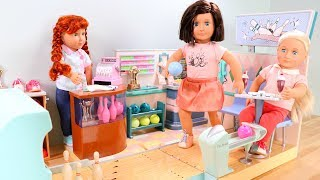 Our Generation Doll Bowling Alley Playset Unboxing & Review