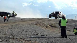 2011 Battle at Primm Rusty Stevens awesome trophy truck jump