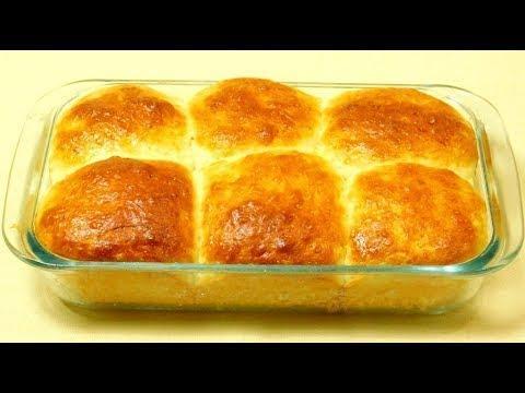 Easy No Knead Dinner Rolls Recipe 😋 Super Soft Milk Bun Recipe